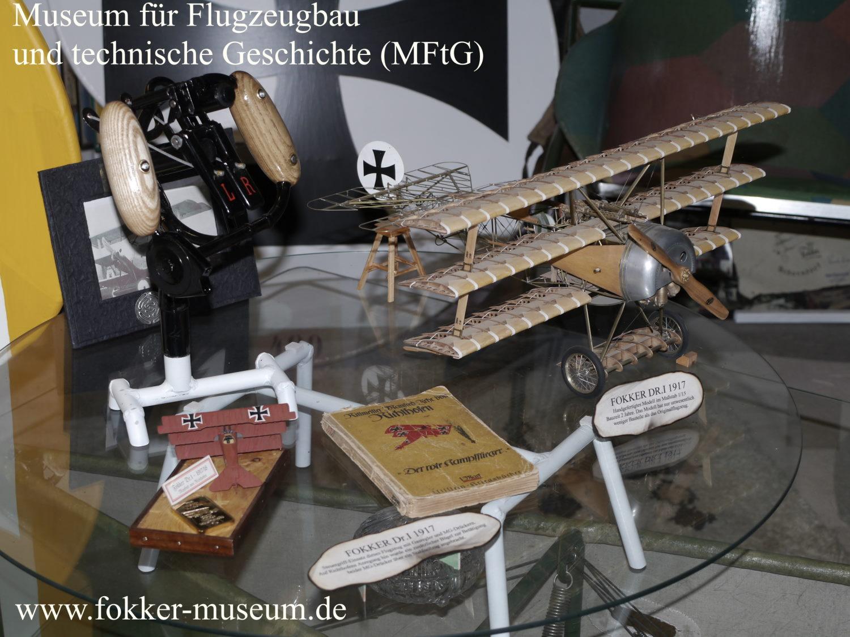Museum für Flugzeugbau und technische Geschichte - Fokker Zeitleiste