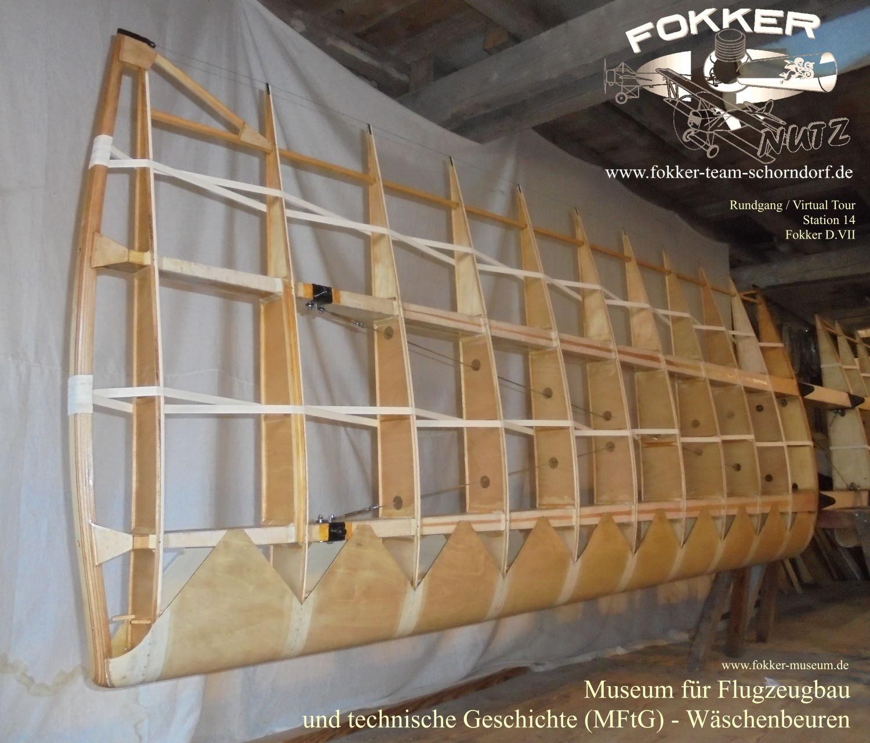 Museum für Flugzeugbau und technische Geschichte - Station 11 Bauteile