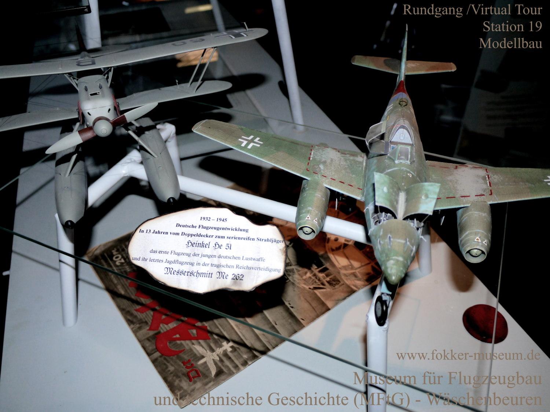 Museum für Flugzeugbau und technische Geschichte - Station 19 Modellbau