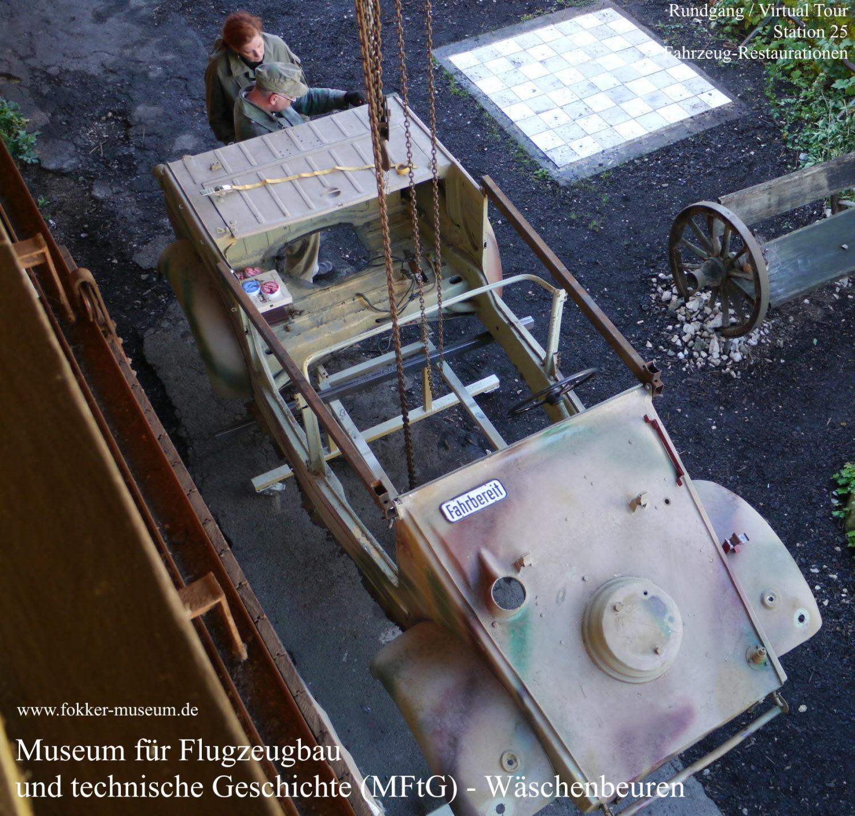 Museum für Flugzeugbau und technische Geschichte - Station 25 Restaurationen