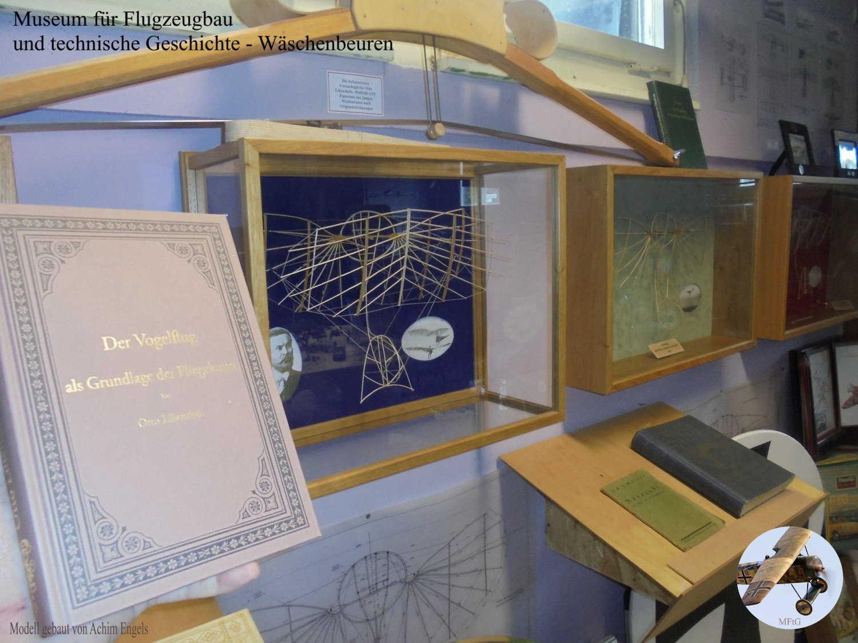 Museum für Flugzeugbau und technische Geschichte - Sammlung von Modellen im Gedenken an Otto Lilienthal