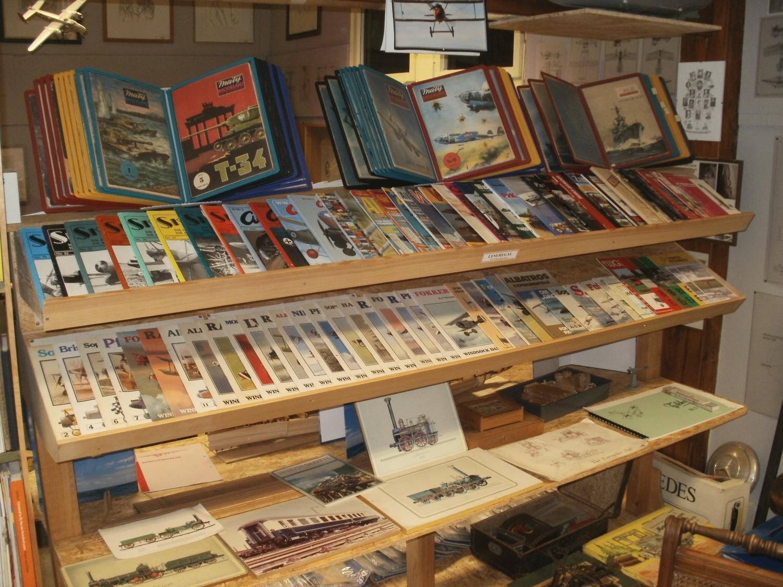 Bücher und Magazine zum Lesen