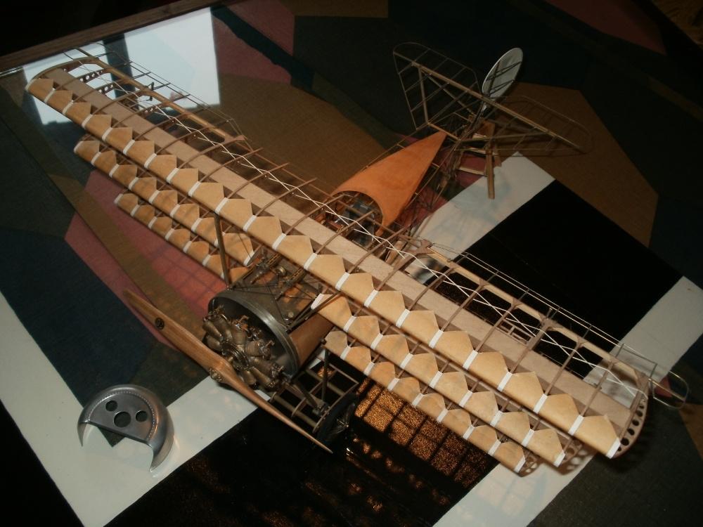 Eigenbau der Fokker E.III im Maßstab 1/15