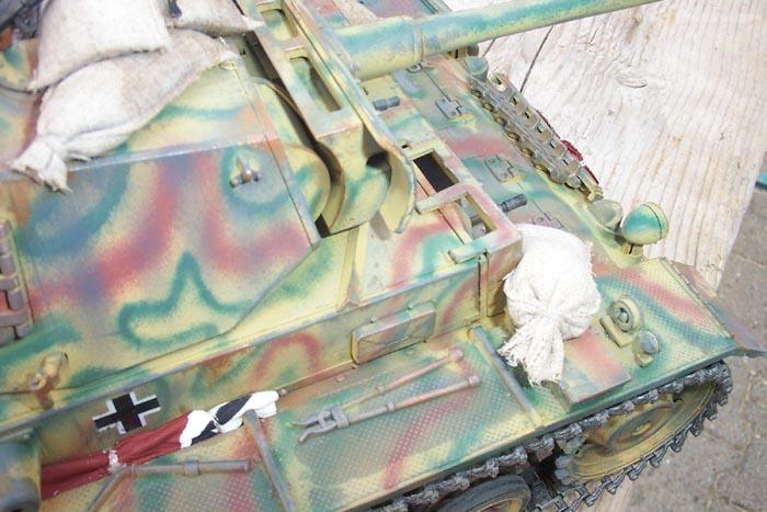 Panzerkampfwagen III von Heng Long im Maßstab 1/16