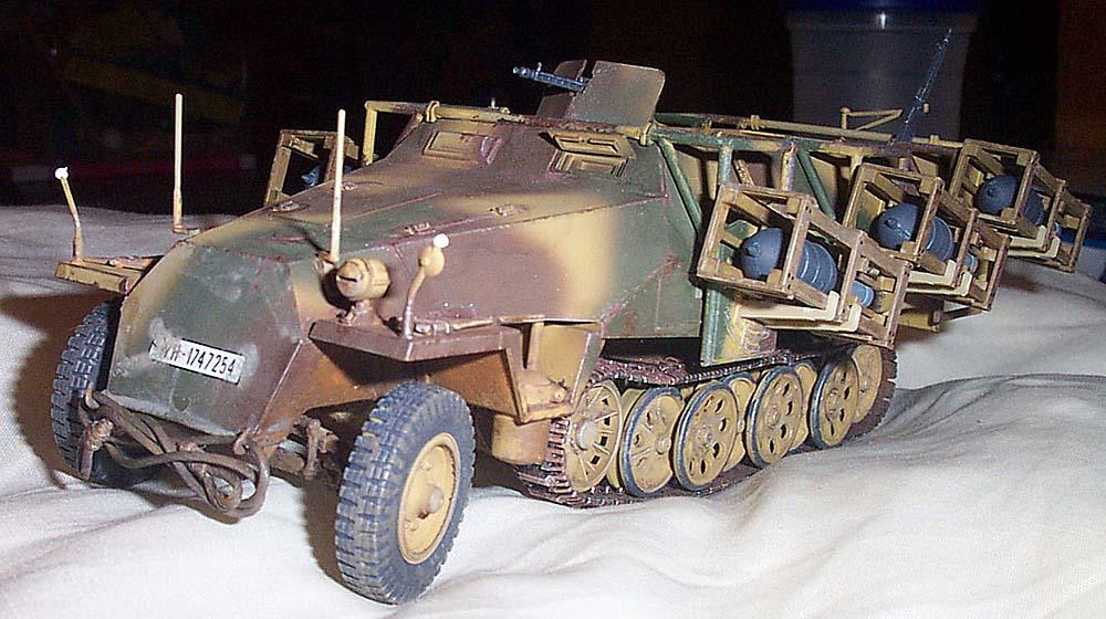 Tamiya Sd Kfz 251 im Maßstab 1/35
