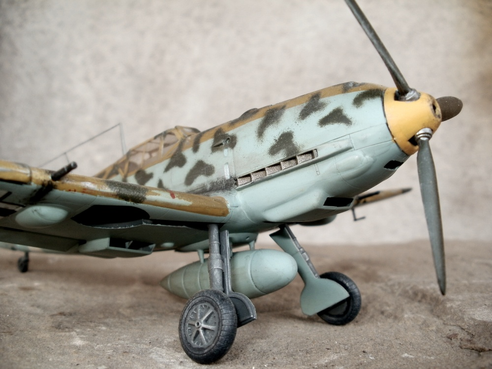 Bf 109 E-4 im Maßstab 1/48 von Hasegawa