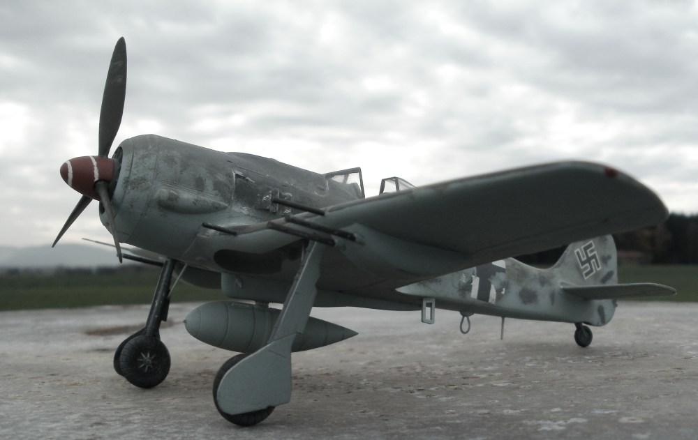 Focke-Wulf 190 von Monogram im Maßstab 1/48.