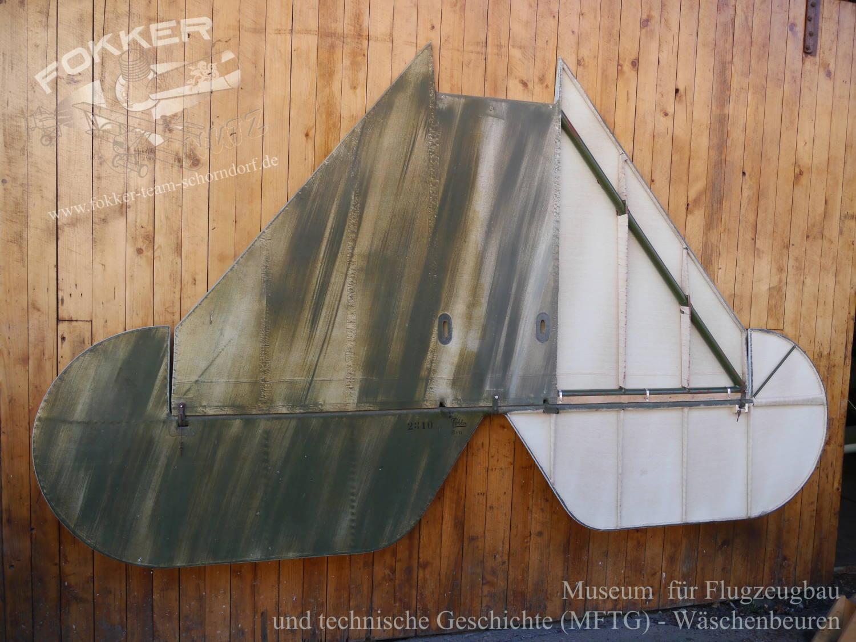Engels E.3 (Fokker D.7) - Höhenleitwerk