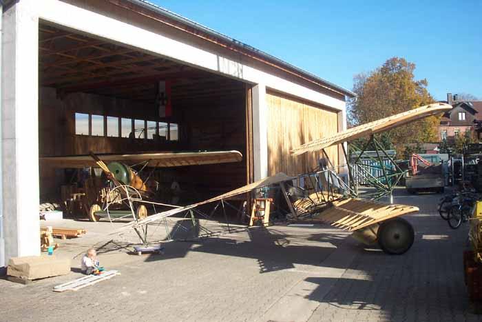 Engels E.3 (Nachbau der Fokker D.VII)- Aufbau