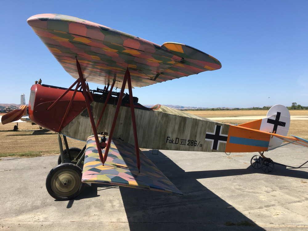 Engels E.3 (Nachbau der Fokker D.VII) - TVAL Masterton