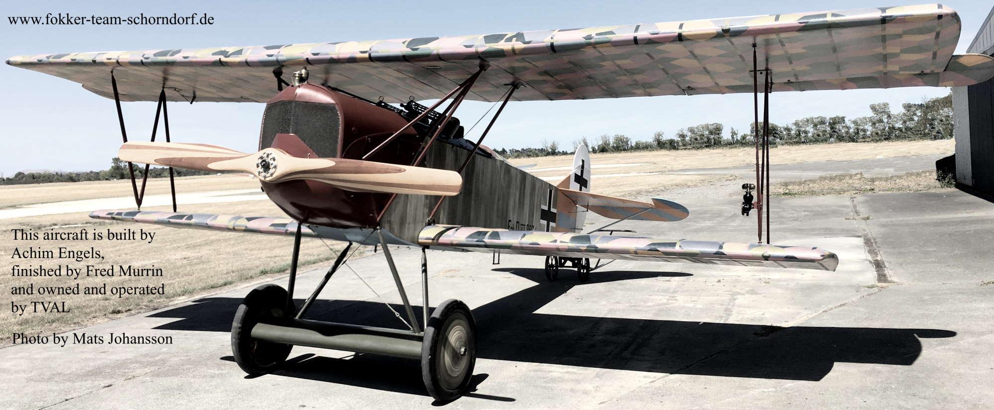 Bau von Flügelrippen der D.VIII