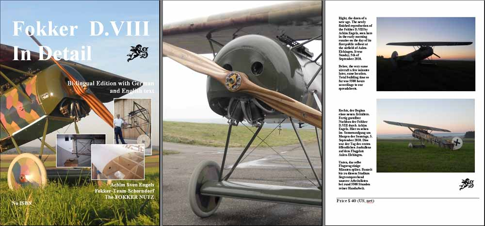 Fokker D.VII - In Detail Pages 1-3