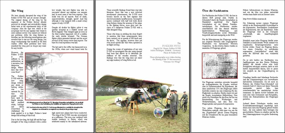 Fokker D.VII - In Detail Pages 142-154