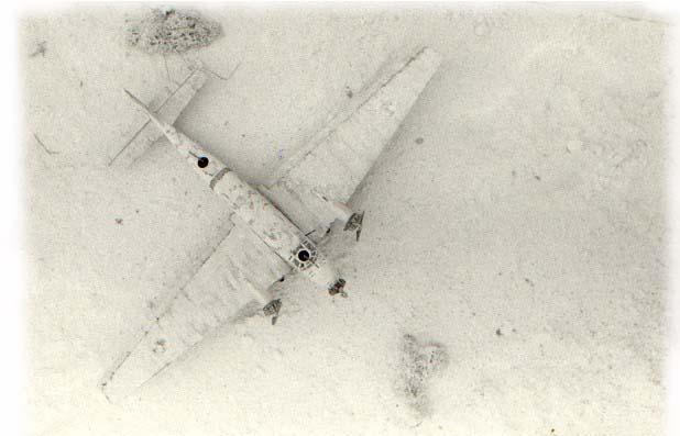 1:72 Junkers Ju 52 im Winterkleid. Sonderlackierung nach Originalfotos. Modell von Italeri. Erbauer: Achim Engels.