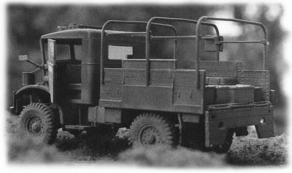 1:35 Modell des Bedford 2,5t von Italeri. Gebaut von Achim Sven Engels.